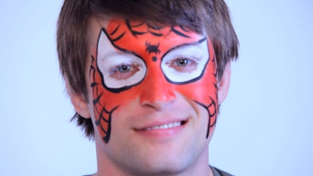 C. How to Paint Spiderman with Face Paint Promo Image