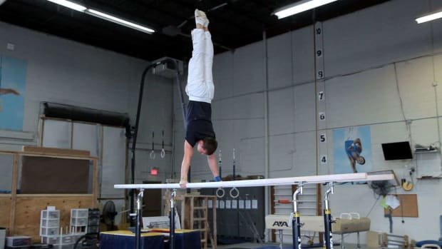 ZG. How to Do a Parallel Bars Routine Promo Image