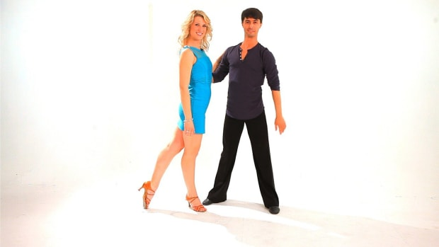 ZG. How to Dance an Advanced Cross Body Lead with Inside Turn for Lady Promo Image