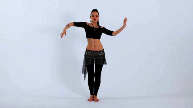 ZL. How to Do Snake Arms in Belly Dancing Promo Image