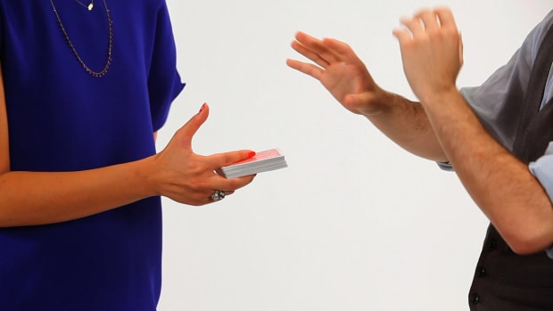 J. How to Do the Slapstick Card Magic Trick Promo Image