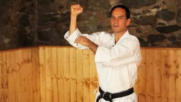 E. How to Do Middle Blocks in Karate Promo Image