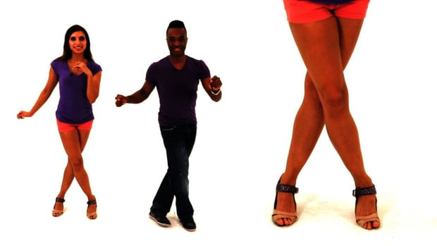 ZK. How to Do Advanced Footwork in Bachata Dance Promo Image