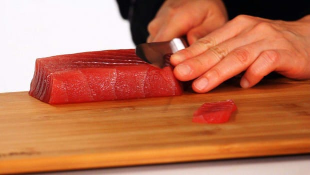 F. How to Slice Sushi Fish Promo Image