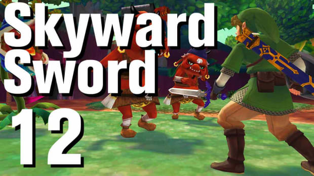 L. Zelda: Skyward Sword Walkthrough Part 12 - Behind the Temple Promo Image