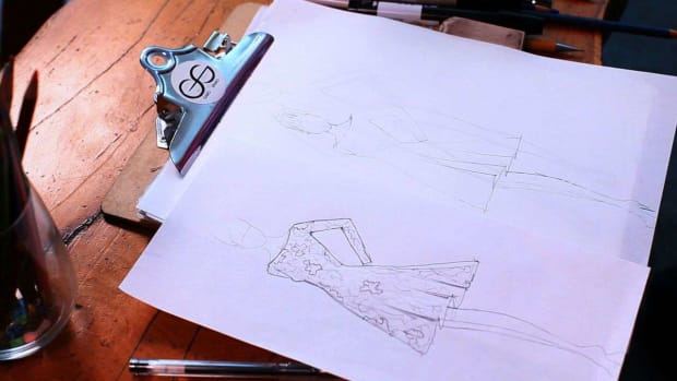 V. How to Retrace a Fashion Sketch Promo Image