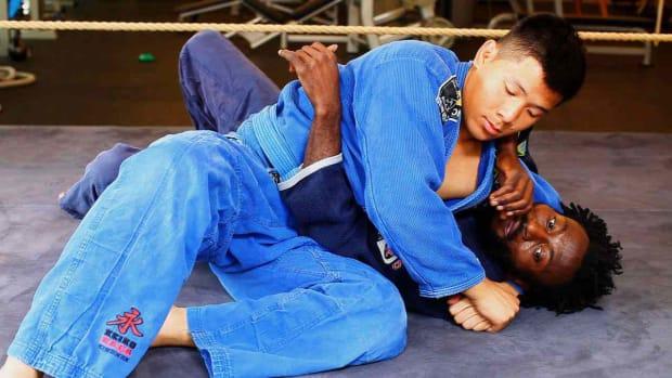 V. How to Get Out of a Headlock in Brazilian Jiu Jitsu Promo Image
