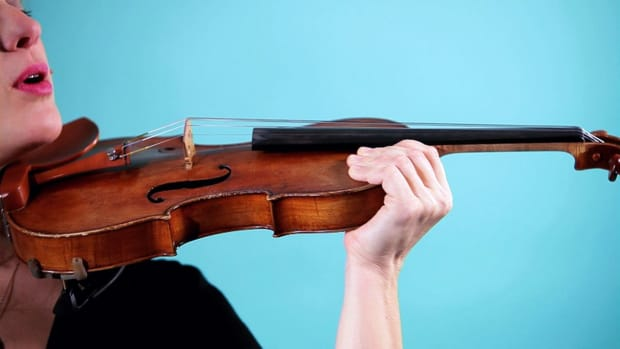 V. How to Hold a Violin Promo Image