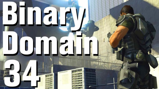 ZH. Binary Domain Walkthrough Part 34 - Out of Control Promo Image