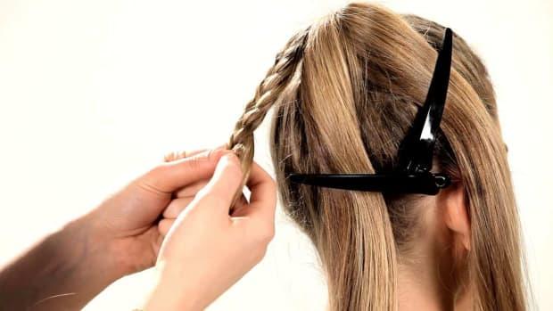E. How to Do a Fishtail Braid Ponytail Promo Image