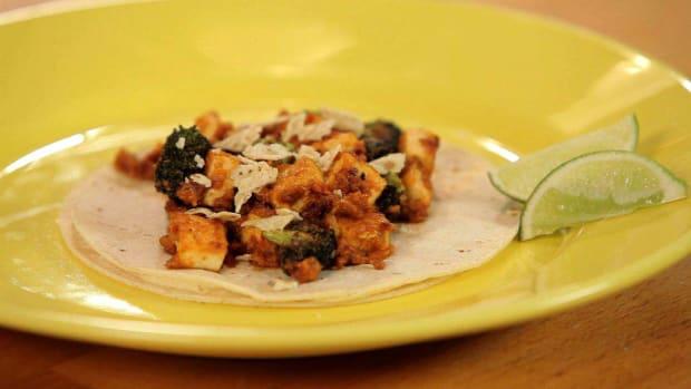 I. How to Make Tofu Tacos with Peanut Salsa Promo Image