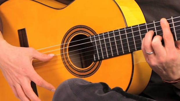 Q. Flamenco Guitar Techniques: How to Play Alzapua with Golpe Promo Image