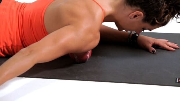 U. How to Foam Roll Your Pectorals Promo Image