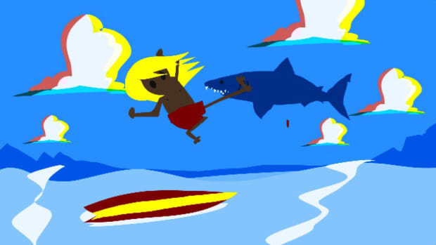 P. How to Survive a Shark Attack Promo Image