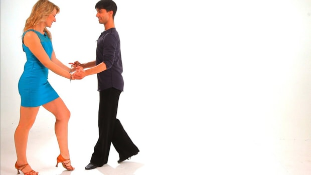 ZE. How to Dance a Triple Cha-Cha Lock Step Promo Image