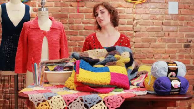 L. How to Crochet an Afghan Promo Image