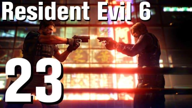 W. Resident Evil 6 Walkthrough Part 23 - Chapter 2 Promo Image