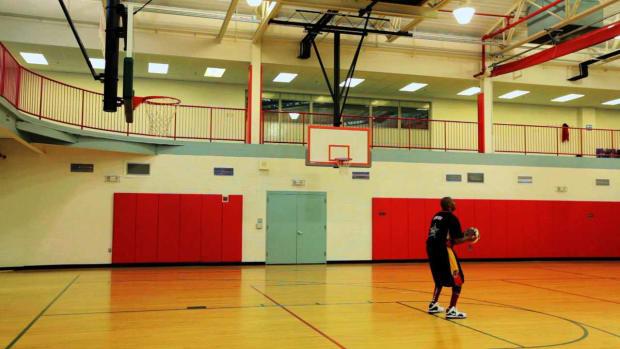 ZZI. How to Do a Backwards Basketball Free Throw Promo Image