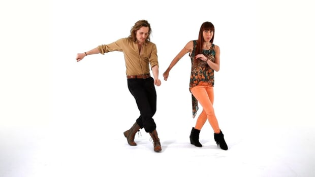 ZH. How to Do Advanced Funky Footwork in Latin Fusion Dance Promo Image