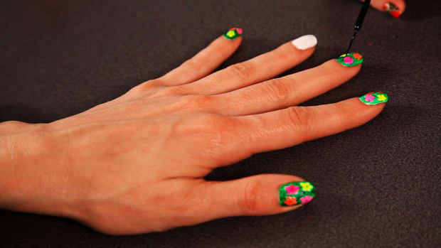 F. How to Do a Warhol Flowers Nail Design, Pt. 2 Promo Image