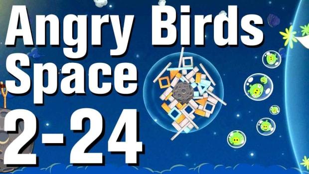 ZZB. Angry Birds: Space Walkthrough Level 2-24 Promo Image
