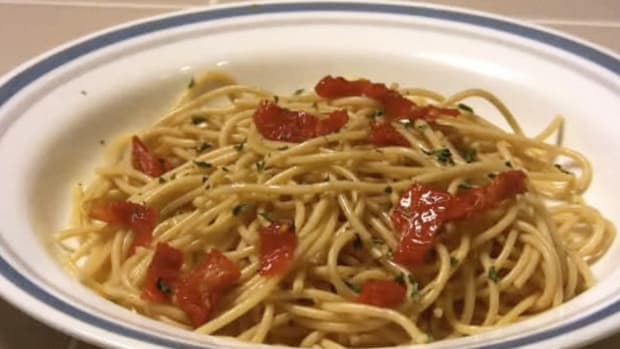 E. How to Make Healthy Pasta Promo Image
