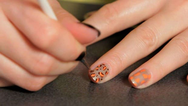 G. How to Do a Cheetah Nail Art Design Promo Image