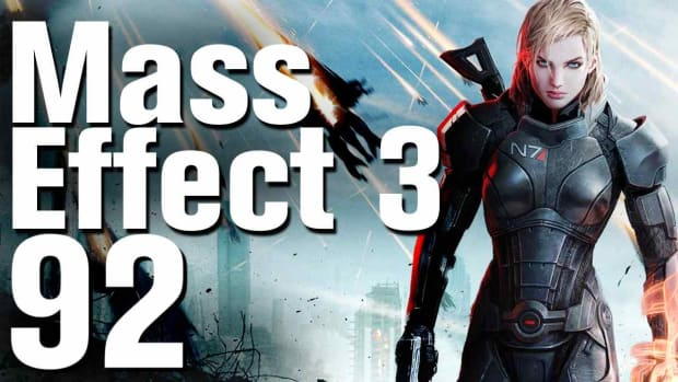 ZZZN. Mass Effect 3 Ending (Control / Blue) Walkthrough Part 92 Promo Image