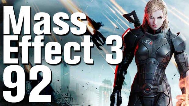ZZZN. Mass Effect 3 Ending (Control / Blue) Walkthrough Part 92 Promo Image