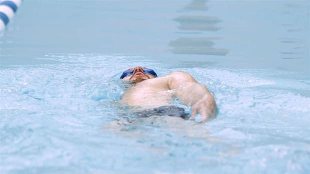 G. How to Do the Back Crawl / Backstroke Swimming Stroke Promo Image