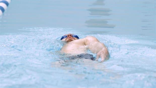 G. How to Do the Back Crawl / Backstroke Swimming Stroke Promo Image