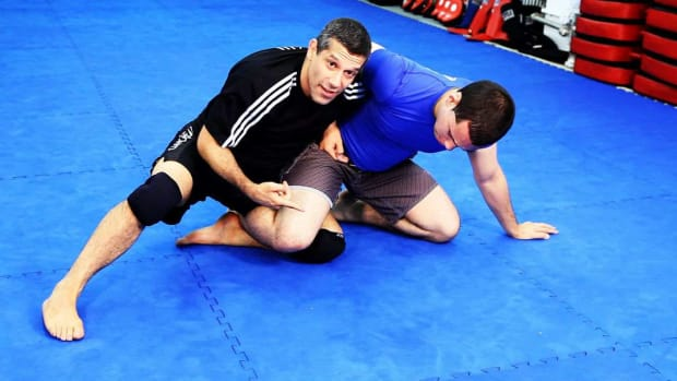 ZZJ. How to Do Half Guard Sweeps in MMA Fighting Promo Image