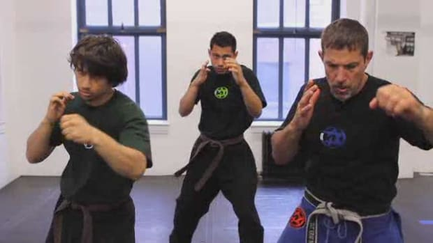 A. How to Do a Straight Punch Combination in Krav Maga Promo Image