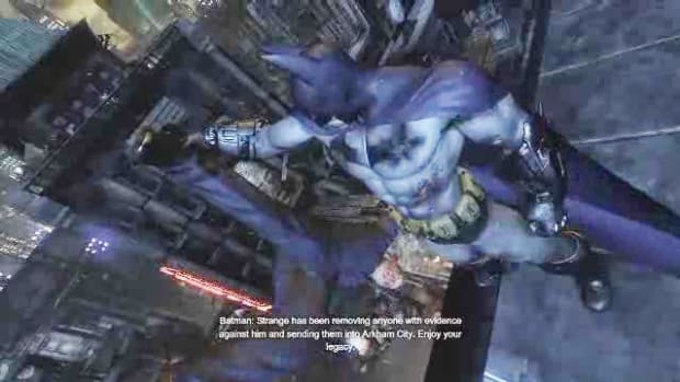ZJ. Batman Arkham City Walkthrough Part 36 - Interrogate Quincy Sharp Promo Image