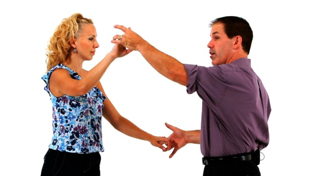 P. How to Do an East Coast Swing Underarm Turn with Hand Change Promo Image
