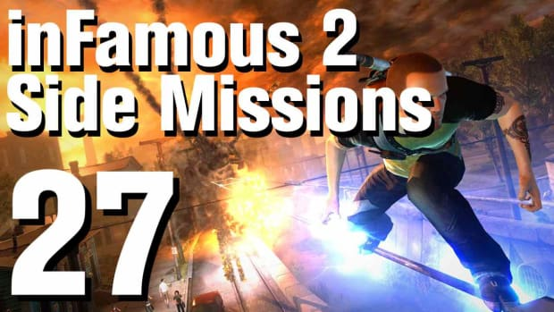 ZZU. inFamous 2 Walkthrough Side Missions Part 27: Revenge Promo Image