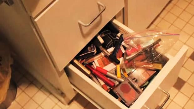 M. How to Organize Your Makeup Drawer Promo Image