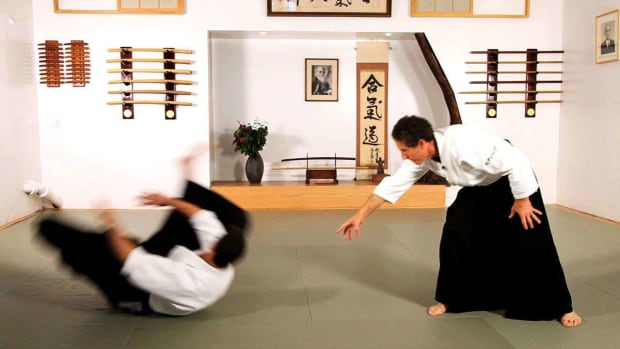 E. How to Do Ukemi Nage in Aikido Promo Image