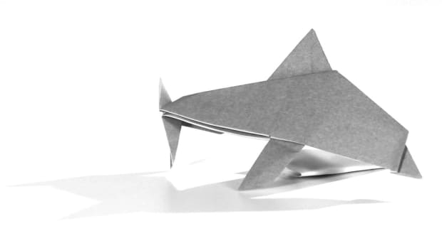 ZD. How to Make an Origami Dolphin Promo Image
