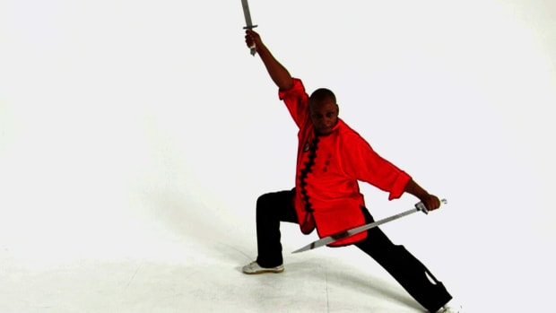 ZZD. How to Use the Double Broadsword in Shaolin Kung Fu Promo Image