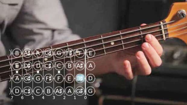 ZK. How to Play a Chromatic Scale on Bass Guitar Promo Image