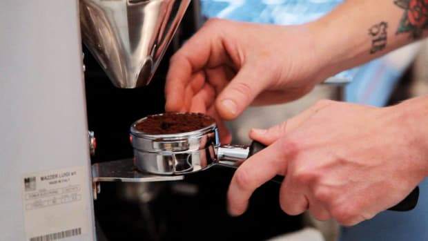A. How to Grind in the Doser to Make Espresso Promo Image