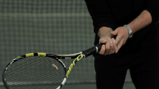 A. 4 Ways to Grip a Tennis Racket Promo Image