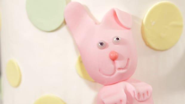 V. How to Make a Fondant Bunny Promo Image