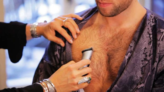 R. How to Trim Chest Hair Promo Image