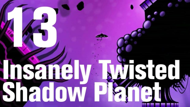M. Insanely Twisted Shadow Planet Walkthrough Part 13: Ocean Promo Image
