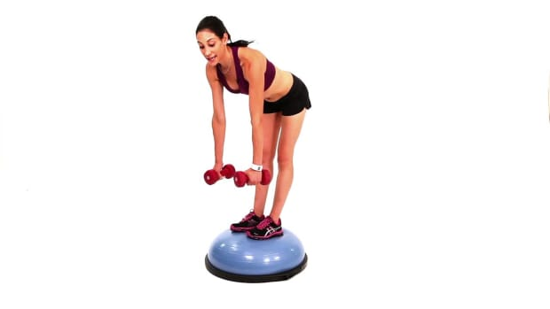 ZQ. How to Do Dead Lifts with a Bosu Ball Promo Image
