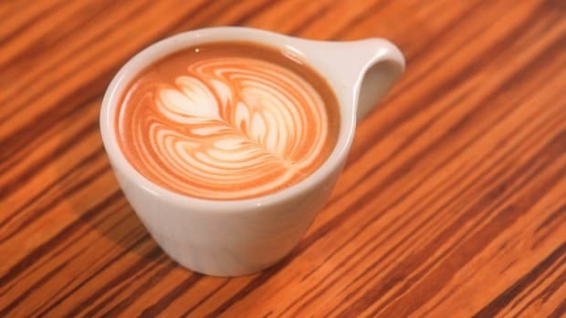 N. How to Pour a Latte Art Rosetta Promo Image