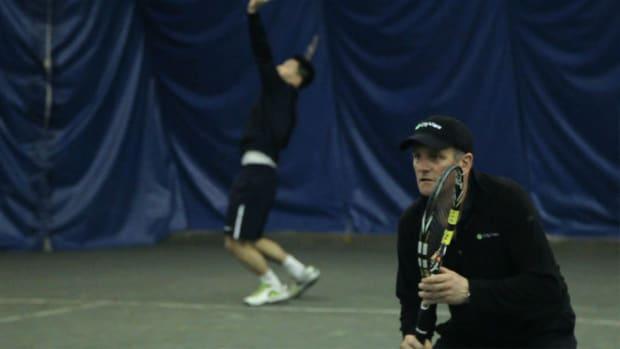 U. Tennis Drills for Serve & Volley Promo Image