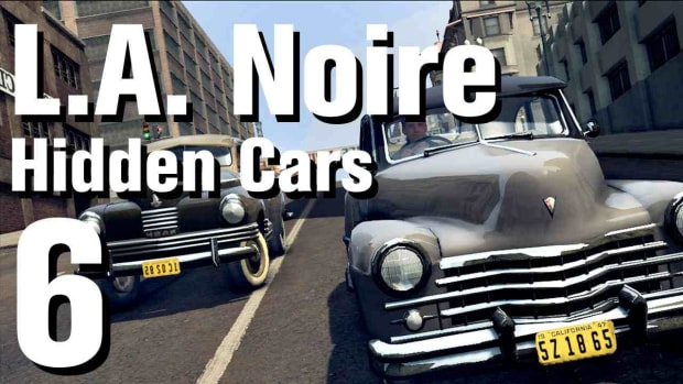 "F. L.A. Noire Walkthrough Hidden Cars 06: ""Delage D8 120"" Promo Image"